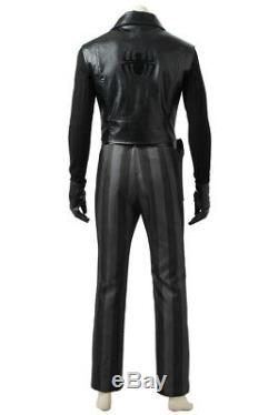 Spider-Man Into the Spider-Verse Noir Superhero Outfit Customize Halloween Suit