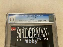 Spider-man Reign #1 Cgc 9.8 Black-suit Variant Recalled Issue Nude Peter Parker