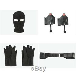 Spiderman Costume Far From Home Cosply Spider-man Stealth Suit Noir Black Outfit