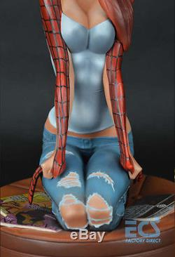 Spiderman J. Scott Campbell Mary Jane 11 Pre-painted Resin Action Figure Statue