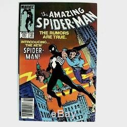 The Amazing Spider-Man #252 1st Black suit VENOM
