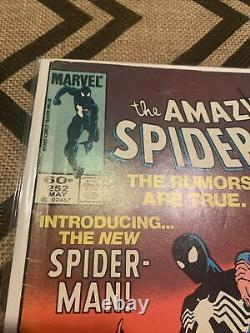 The Amazing Spider-Man 252, 258, Secret wars 8, And What If. 4 Black Suit Keys