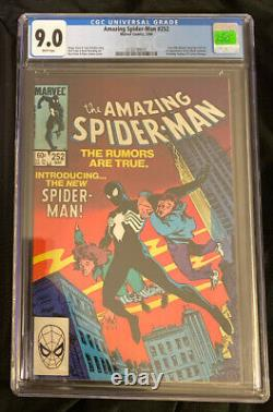 The Amazing Spider-Man #252 CGC 9.0 (1st Appearance Of The Black Suit In ASM)