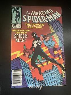 The Amazing Spider-Man #252 First Appearance Of Black Suit Very Good Condition