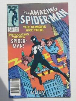 The Amazing Spider-man #252 May 1st App Black Suit Issue Comic Nice Very Fine+