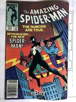 The Amazing Spiderman # 252 1st Venom Symbiote Black Suit Appearance (vg)