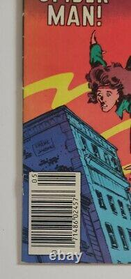 The Amazing Spiderman 252 1st appearance of Black Suit