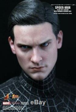 (US) Hot Toys MMS165 Spider-Man Spiderman 3 Black Suit Ver. Sideshow exclusive